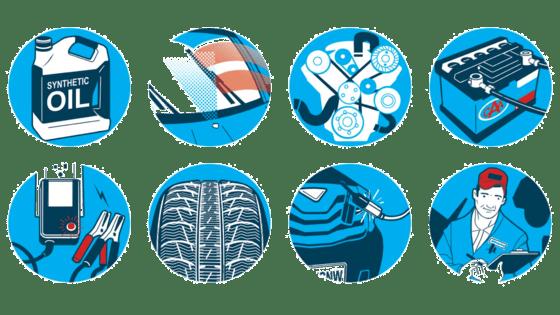 چک-لیست-خودرو-زمستان-ضدیخ|کاریزشاپ
