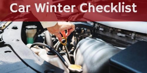 چگونه خودروی خود را برای زمستان آماده کنیم ؟چک لیست زمستانی خودرو در هفت مرحله