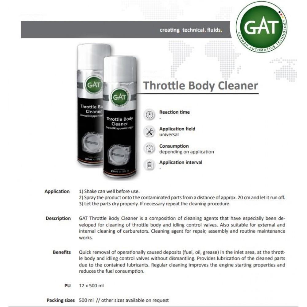 THROTTLE BODY CLEANER